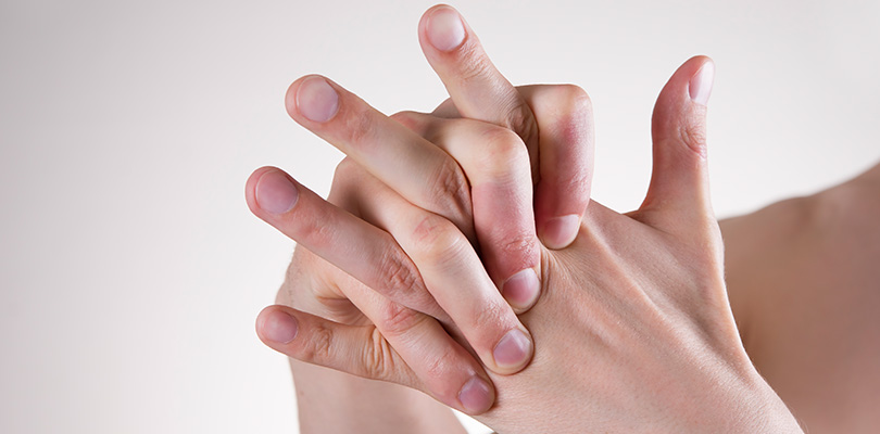 Cracking knuckles causing pain dating